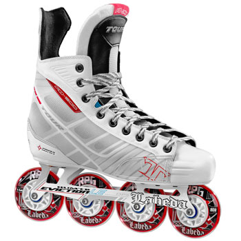 Tour Roller Hockey Skate FB500 White Edition